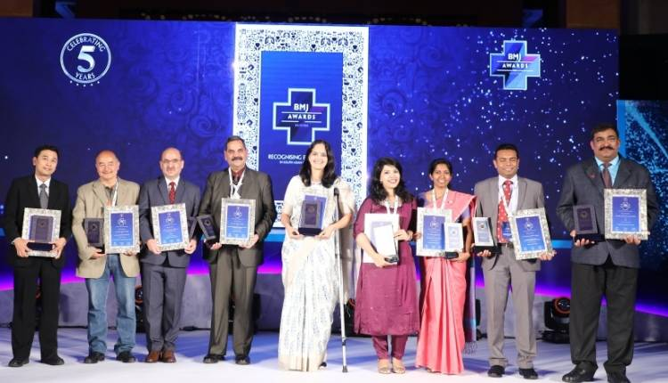 Four Indian doctors win BMJ Awards South Asia 2018