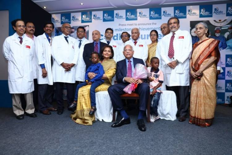 Apollo Hospitals successfully completing over 50,000 heart surgeries