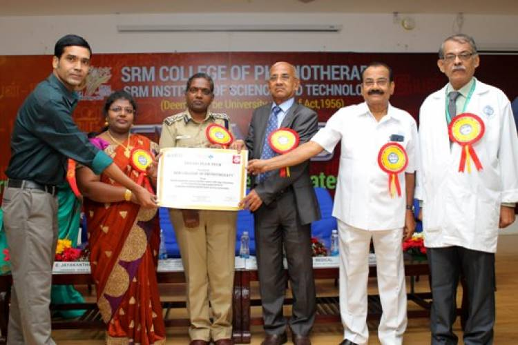 "SRM College of Physiotheraphy Organised ""EYAN - 2018"""