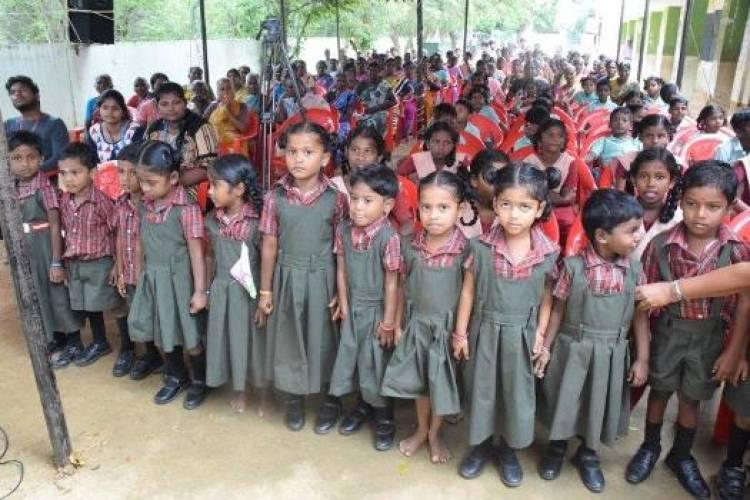 SRMIST adopted 5 villages in Kanchipuram District