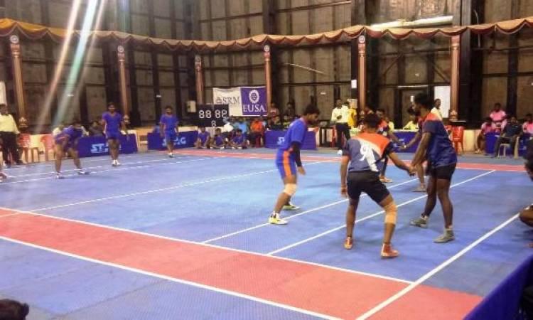 SRM IST Organised South Zone Inter University Kabaddi Men Tournament 2018 - 2019