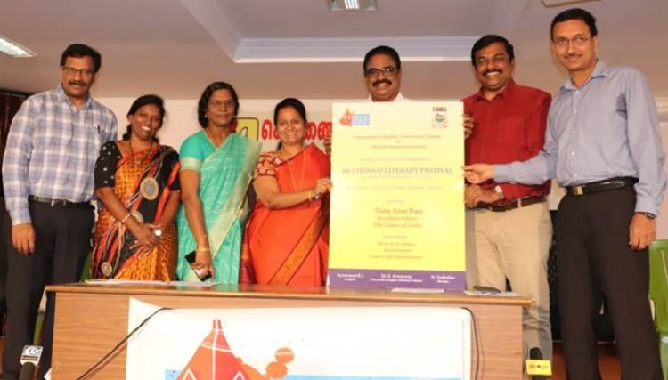 Chennai Literary Festival 2019
