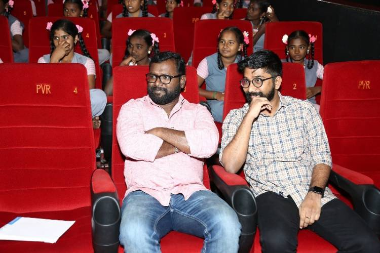A special screening of the movie, Kanaa (Dream) for PUTHRI scholars