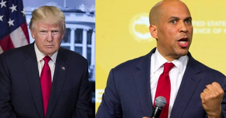 US Senator Cory Booker to take on Donald Trump in Presidential election