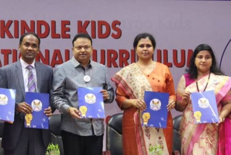 "Vels Group of Institutions launched the ""KINDLE KIDS INTERNATIONAL CURRICULUM"""