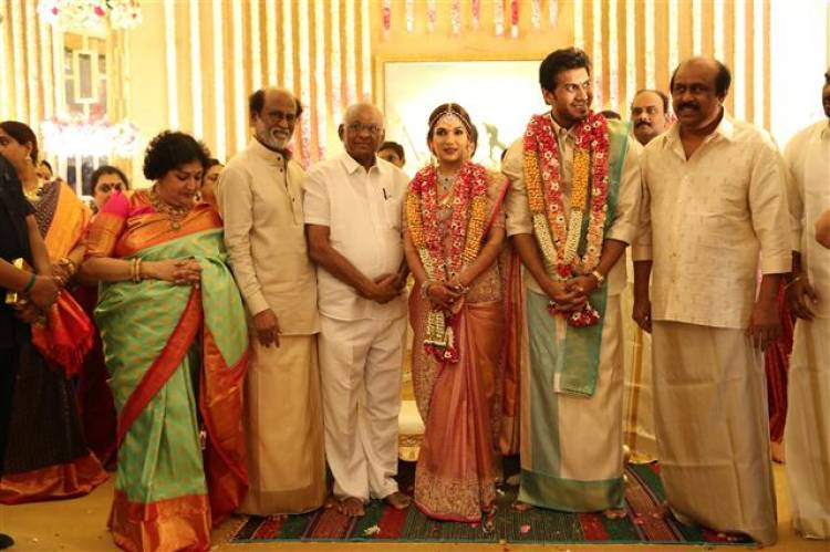 Vishagan - Soundarya Rajinikanth Wedding Stills