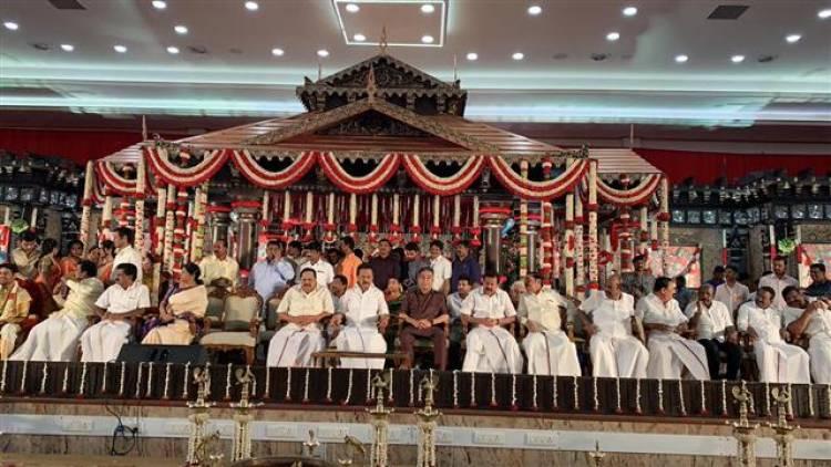 விசாகன், சௌந்தர்யா ரஜினிகாந்த் திருமண விழா !!