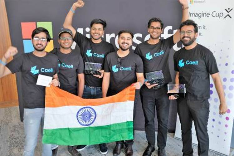 Team Caeli from India wins-2019 Microsoft Imagine Cup Asia Regional Finals in Sydney Australia