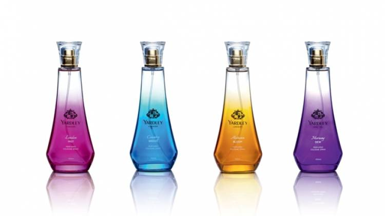 Yardley Range of perfumes for the modern Indian woman and newage men