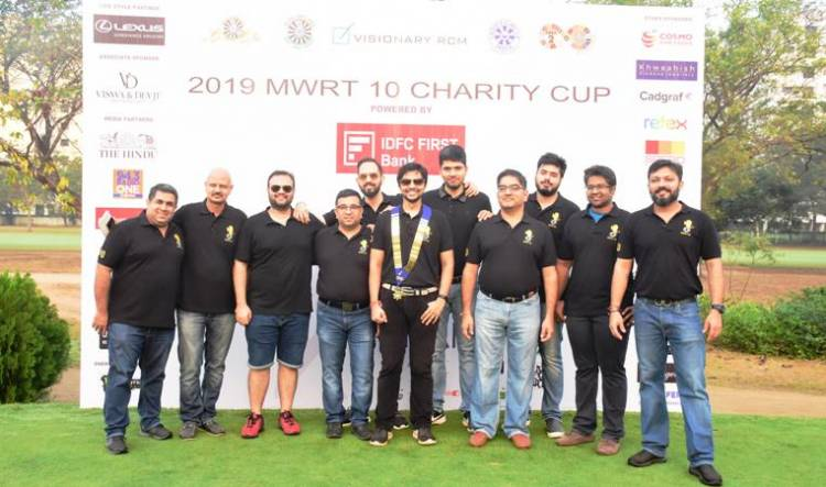 Director Maniratnam & Cricketer Badrinath at CHARITY CUP 2019 GOLF TOURNAMENT