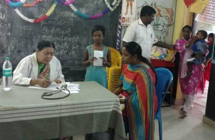 Heart and Oral Health Camp in Chetpet