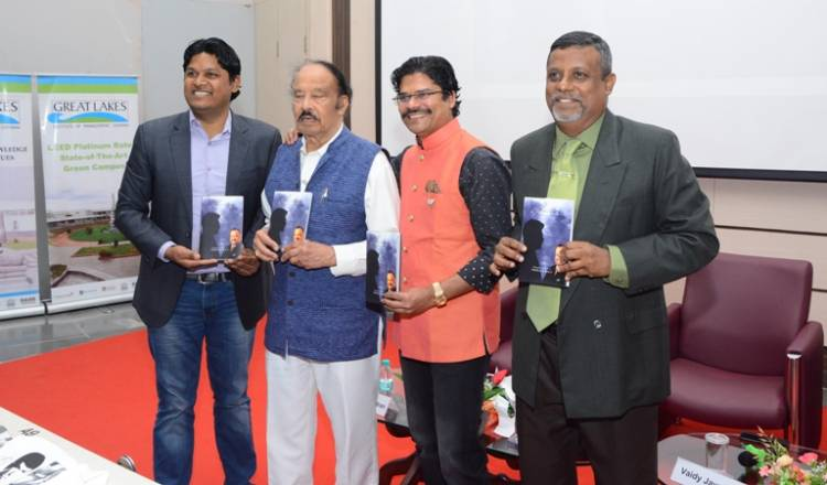 Book titled 'Reflections..on living, loving and working' launched at Great Lakes, Chennai