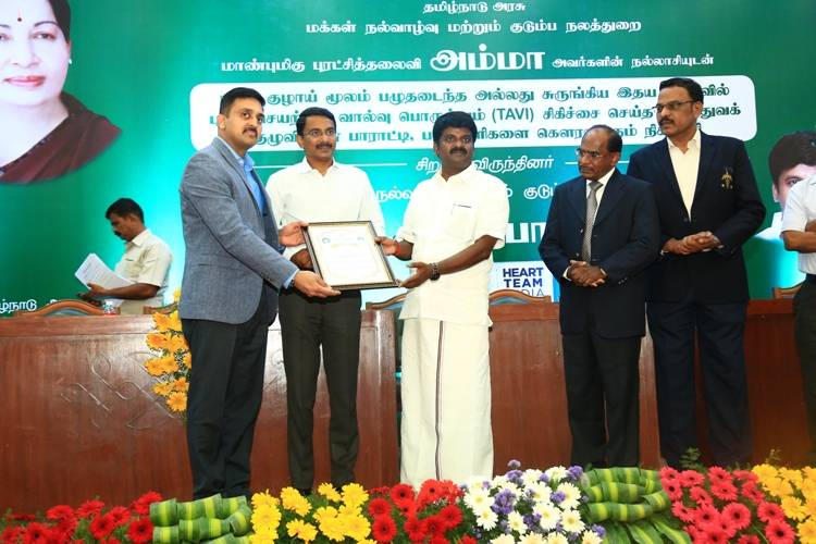 Ministry of Health Announces Tamil Nadu to be the pioneering state in the country for Heart Valve Treatments