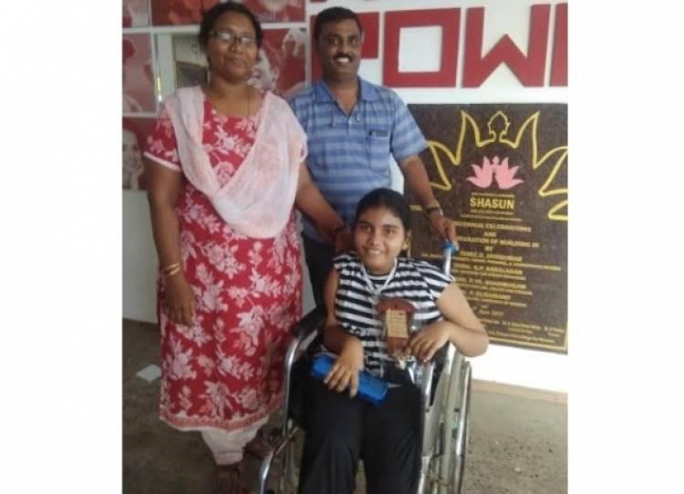 Chennai Little Girl Sharon Rachel Bagged special appreciation award in Chess Tournament