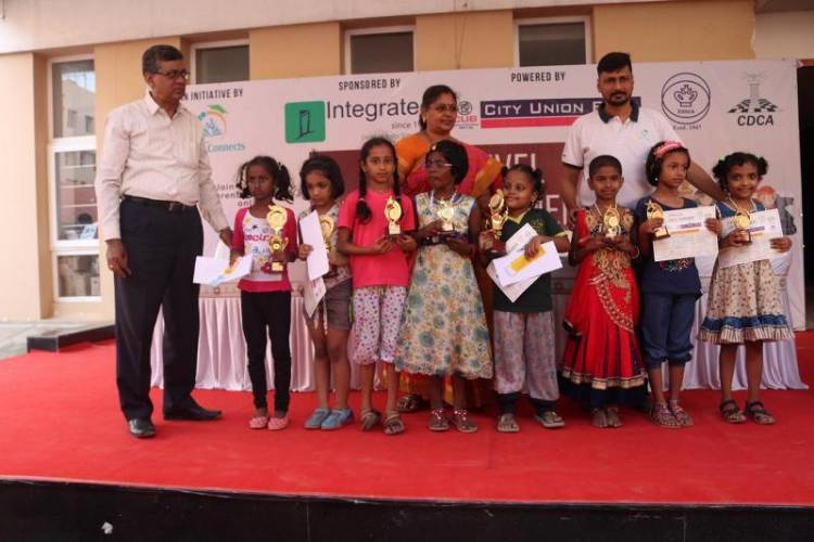 Chennai Little Girl Sharon Rachel Bagged special appreciation award in Chess Tournament