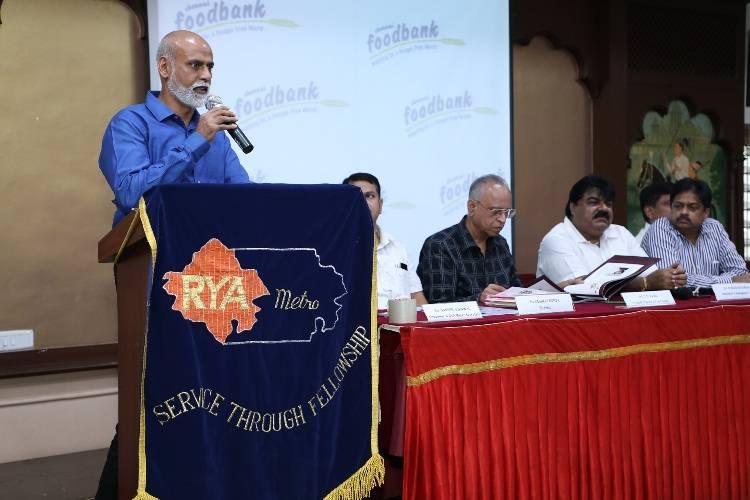 RYA Madras Metro's Chennai FoodBank to Distribute 11,11,111 Meals This Year