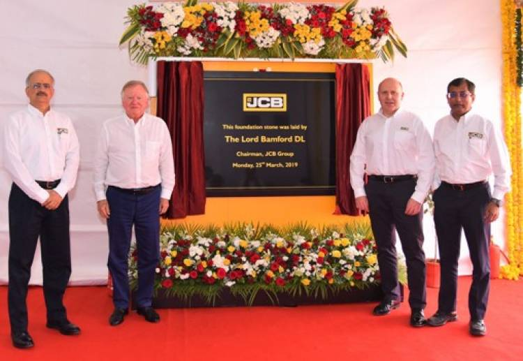 JCB commits a further investment of Rs. 650 Crore in India