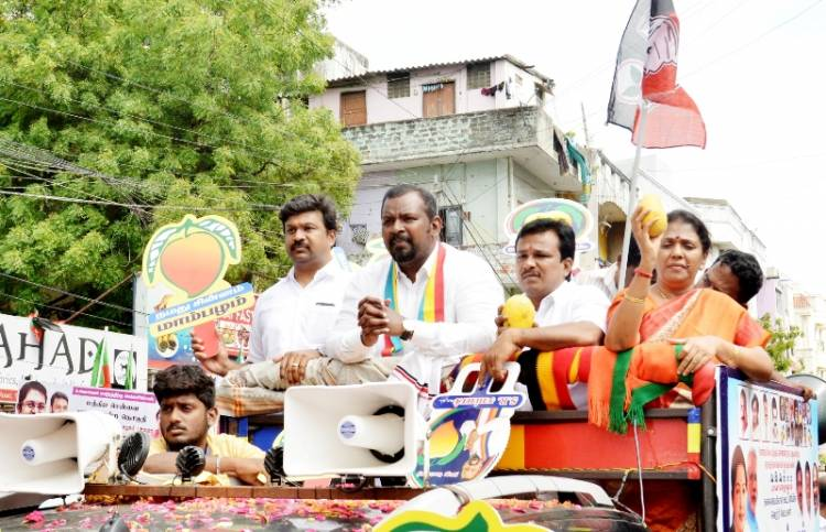 PMK Candidate Dr Sam Paul campaigned in Greams Road
