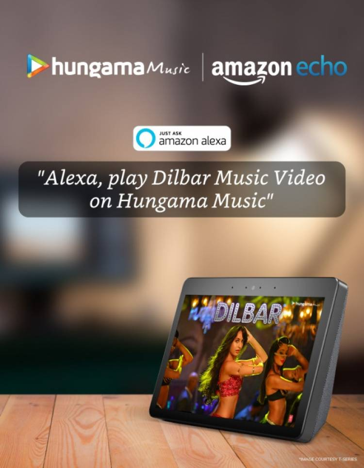 Hungama Music on Amazon Echo