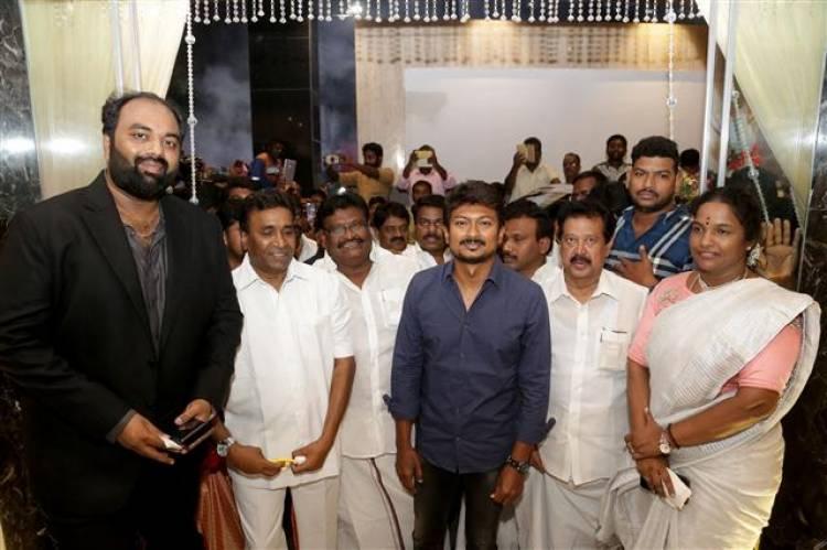 """Actor - Producer Udhayanidhi Stalin Inaugurated """"S Hotels"""" - T Nagar Chennai"""