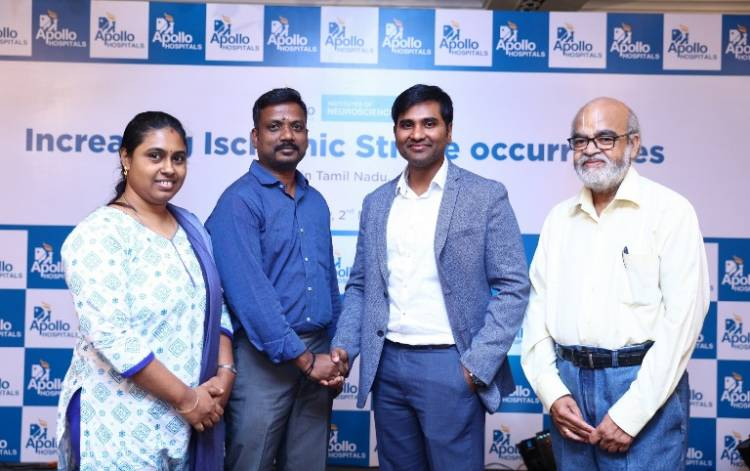 Apollo Hospitals uses a revolutionary procedure to save Ischemic Stroke Patients