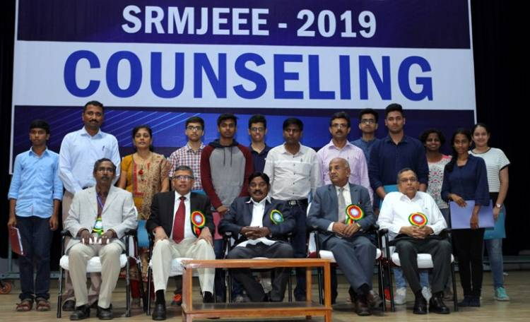 SRMIST B.Tech Counselling 2019
