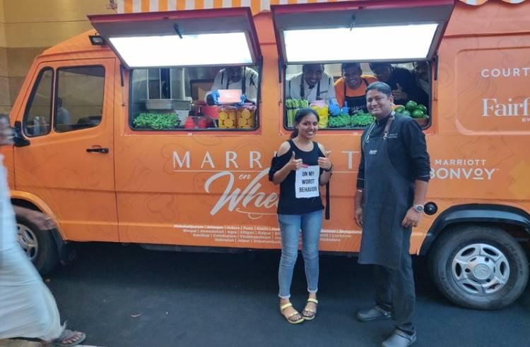 Marriott on Wheels cruises through the city of Madurai