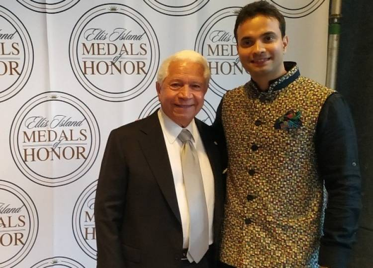 Noble Prize Winners, US Presidents, Global CEOs & now a young Indian to win the 2019 Ellis Island Award