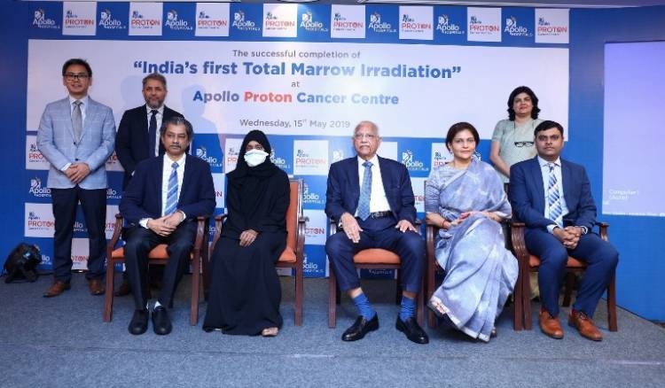 """India's First Total Marrow Irradiation Procedure"" at ""Apollo Proton Cancer Centre"""