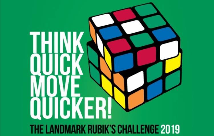 Landmark Rubik's Cube Challenge