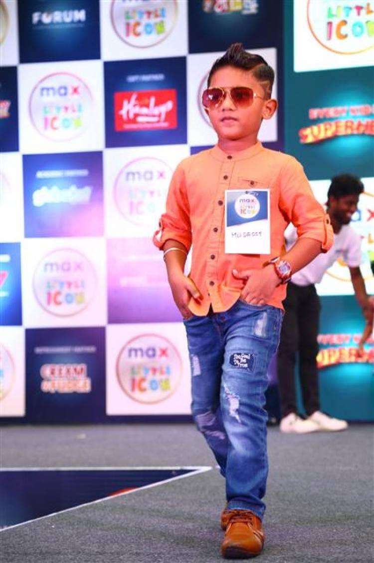 Little Champs of Max Little Icon 2019 Chennai Finale held at Forum Vijaya Mall