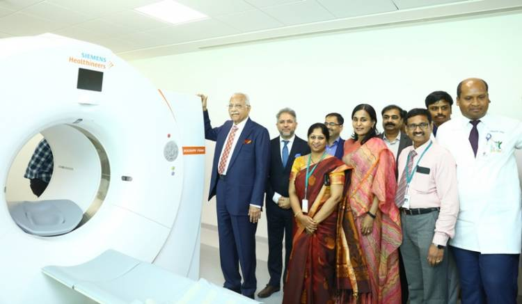 Apollo Hospital, Chennai introduces the first digital PET/CT - Biograph Vision 600T