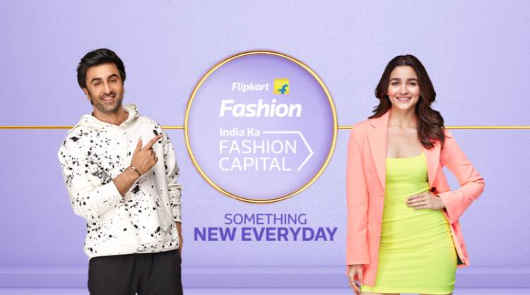Ranbir Kapoor and Alia Bhatt come together for the first time in Flipkart Fashion's latest campaign