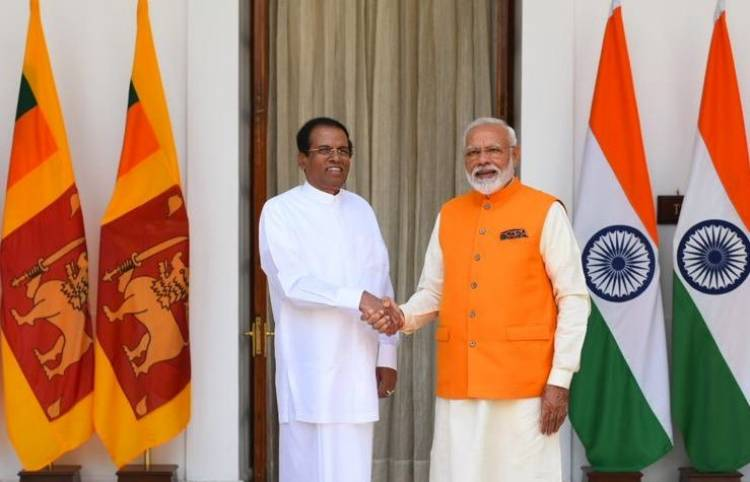 PM Modi holds bilateral meeting with SL President