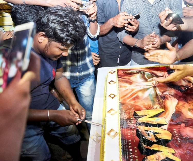 Fans to celebrate NGK movie with a scrumptious 25KG photo cake