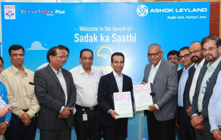 Ashok Leyland initiates 'Sadak Ka Saathi' in association with HPCL