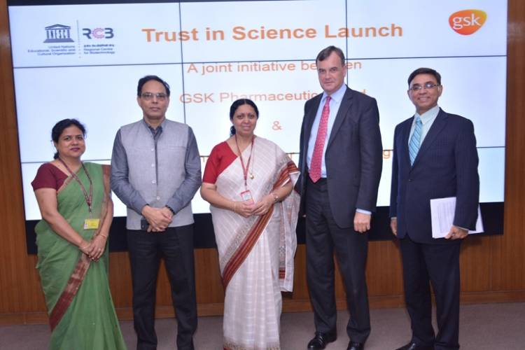 A joint initiative between GSK Pharmaceuticals Ltd and RCB
