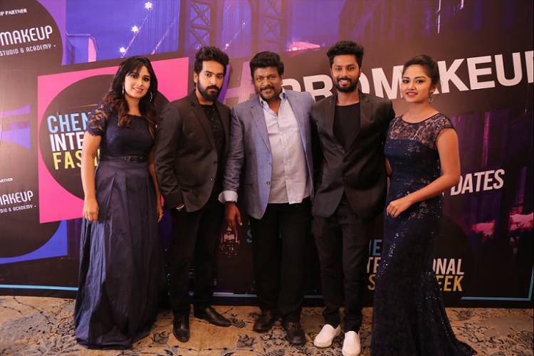 COLORS Tamil artists walked the ramp for 8th Chennai International Fashion Week