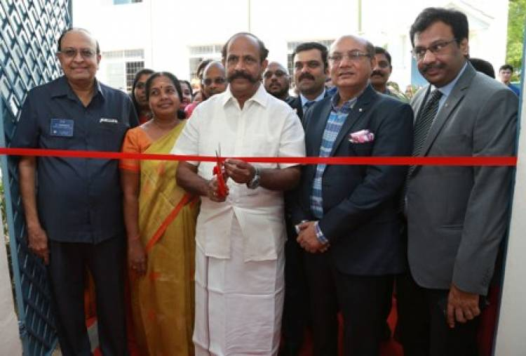 Former DGP Dr. R. Nataraj MLA Launches Vocational Centre for producing low cost Sanitary Napkins