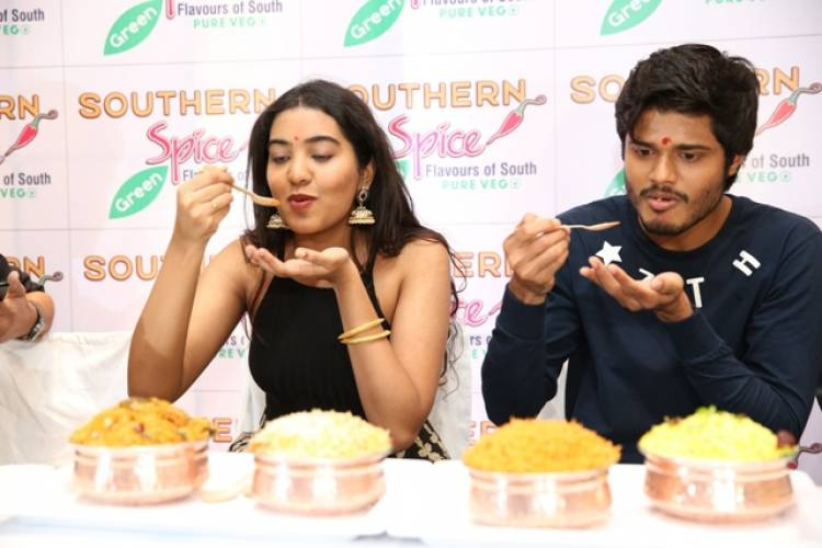 Southern Spice Green 1st vegetarian restaurant Inaugurated in the city