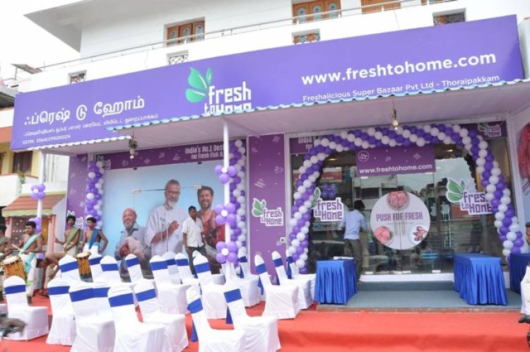 FreshToHome launches three Experience Stores in Chennai