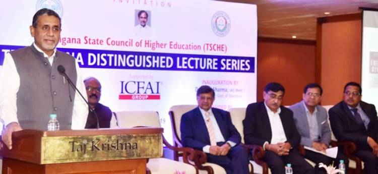 Telangana Distinguished Lecture Series, kick starts with the talk by globally acclaimed strategic thinker Prof. Jagdish N. Sheth!