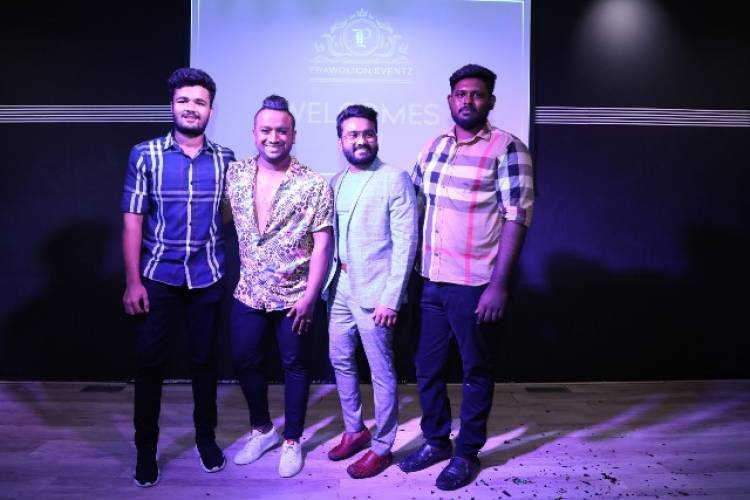 Prawolion Eventz Chennai's newest event management company founded by Prabhakaran PC was launched