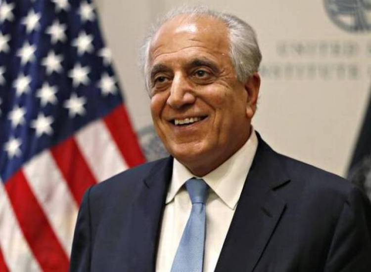 U.S. envoy Zalmay Khalilzad set to resume talks with Taliban