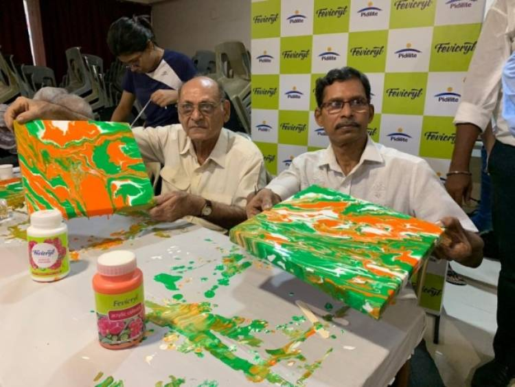 Fevicryl and Parkinson's Disease & Movement Disorder Society celebrate the colors of India