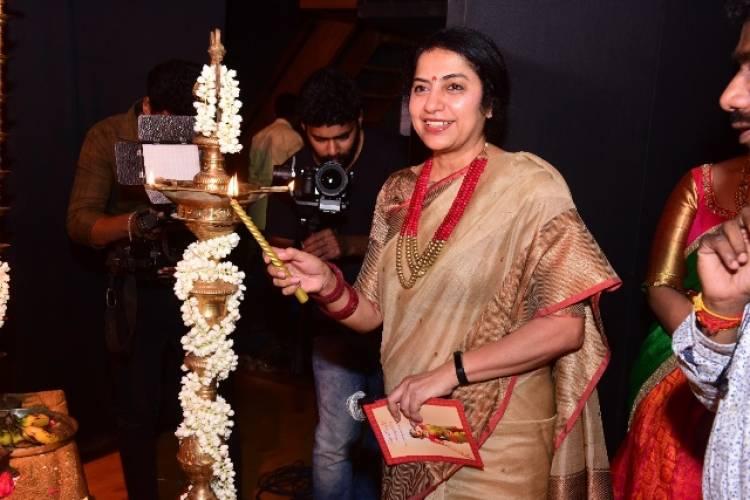 Abyukta Manikandan presented her Bharathanatya Arangetram