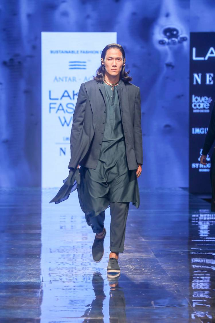 Fashion Took A Stylish Turn With Collections By Antar Agni And Urvashi Kaur At Lakmé Fashion Week Winter/Festive 2019