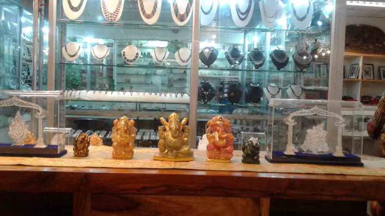 AN EXHIBITION OF GANESHA FIGURINES