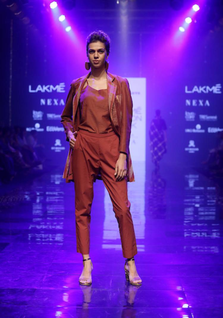Maku, Padmaja And Soham Dave Unveiled Organic Fashion at Lakmé Fashion Week Winter/Festive 2019