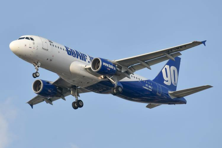 11th time in a row GoAir rated best On-Time-Performer